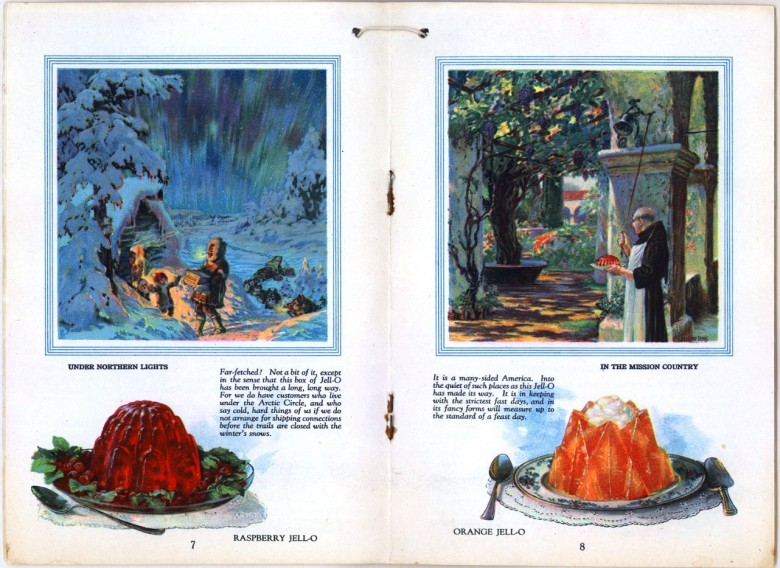Art - Advertisement - Jello - Cookbook Eskimos, Monks