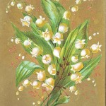 Art - Advertisement - Lilly of the valley