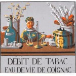 Art - Advertisement - Tabac, Eau de Vie de Coignac