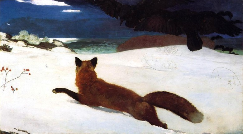 Art - Animal - Painting - Fox - Winslow Homer