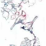 Art - Asian - Animal - bird - japanese - ink