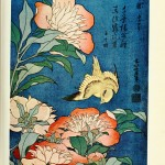 Art - Color Woodcut - Asian flowers