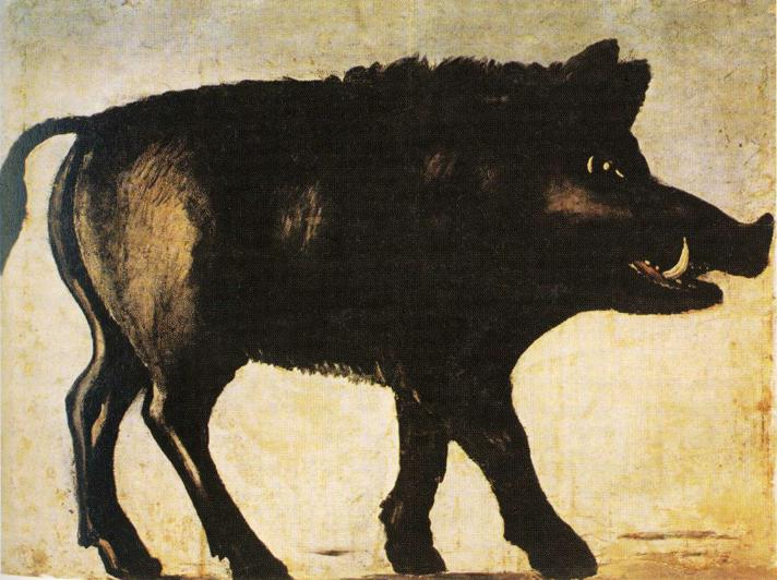 Art - Folk Art - Russian - Animal - Boar