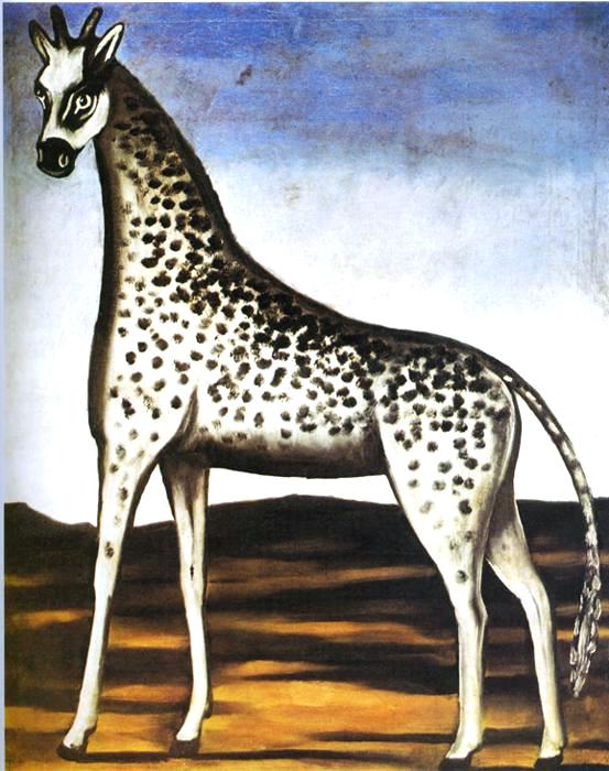 Art - Folk Art - Russian - Animal - Giraffe