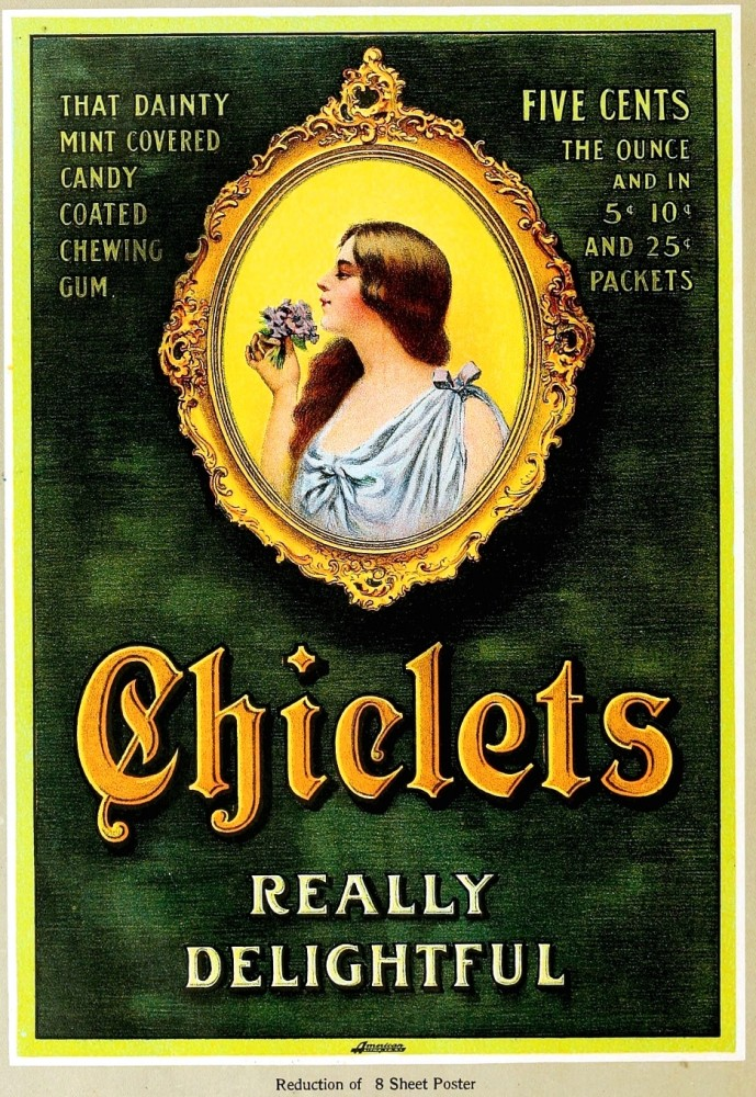 Art - Poster - Advertisement - Chicklets