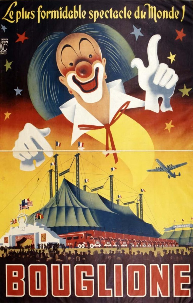 Art - Poster - Advertisement - Circus