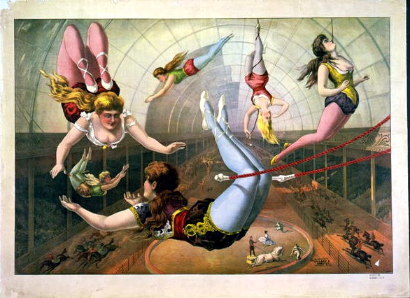 Art - Poster - Advertisement - Circus - Acrobats  (1)