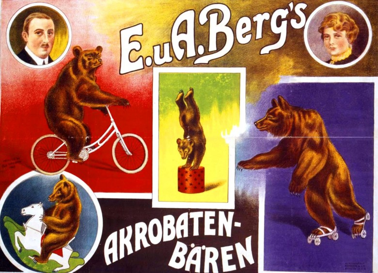 Art - Poster - Advertisement - Circus, Akrobaten Baren