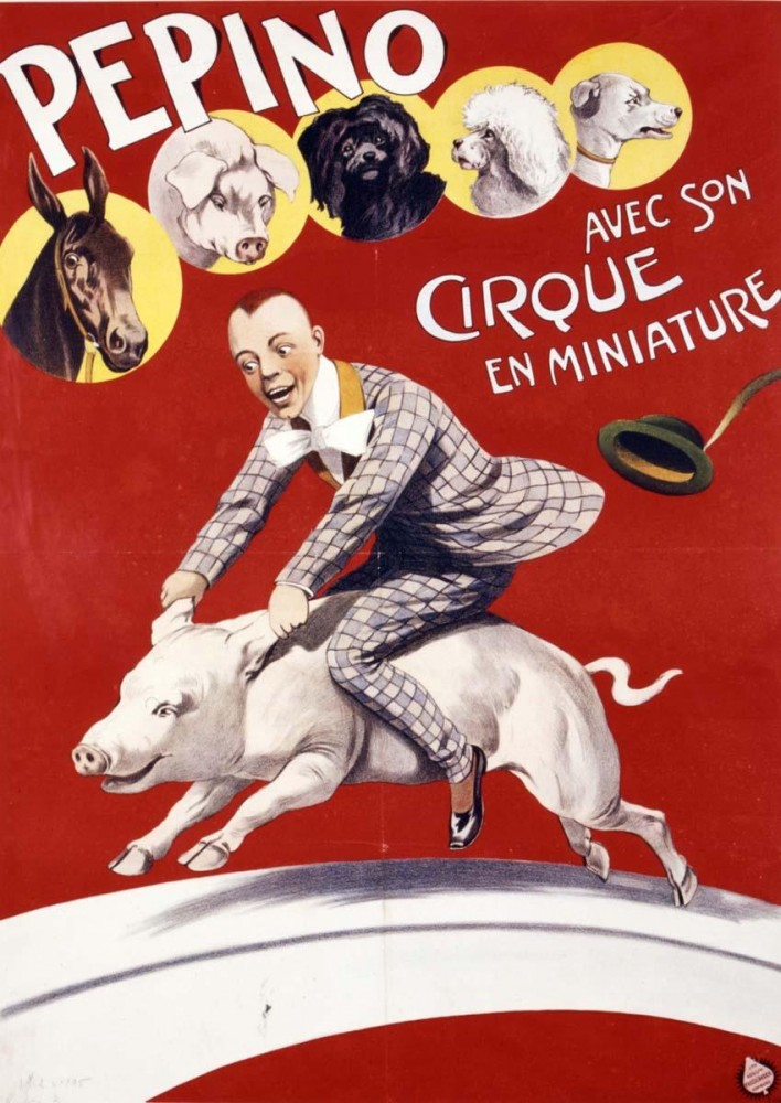 Art - Poster - Advertisement - Circus, Cirque en Miniature
