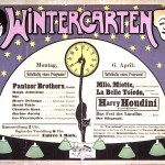 Art - Poster - Advertisement - Circus - Houdini Wintergarten poster