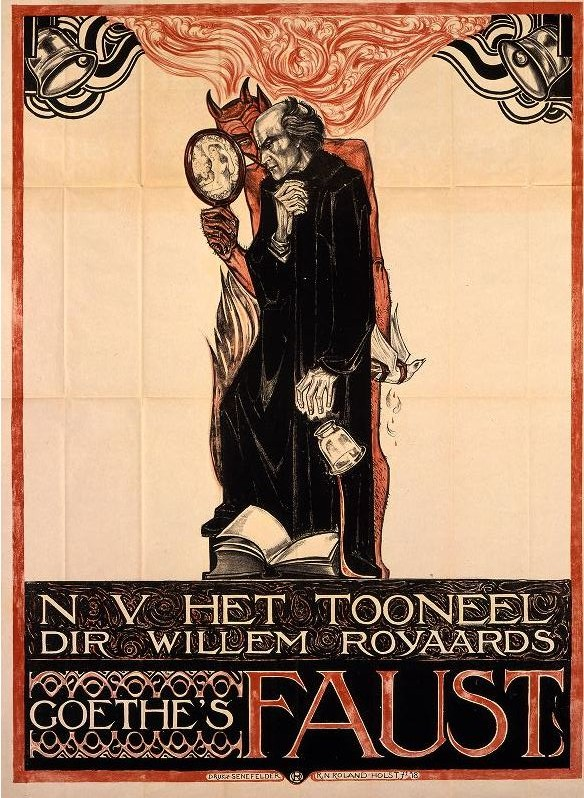 Art - Poster - Advertisement - Entertainment - Art Nouveau - Faust