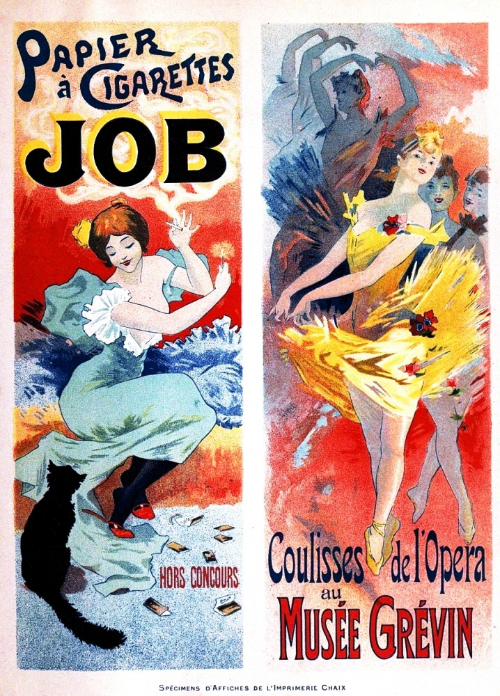 Art - Poster - Advertisement - Entertainment - France - Ballet