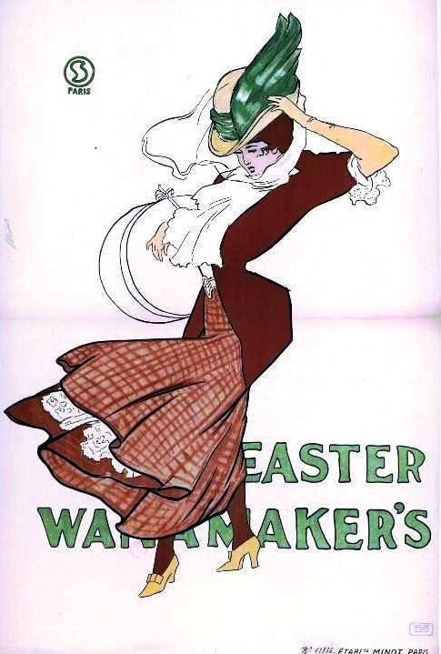 Art - Poster - Advertisement - Seasonal - Easter -Windy
