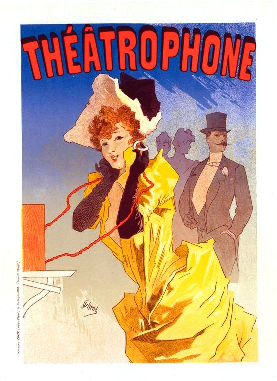 Art - Poster - Advertisement - Theatrophone