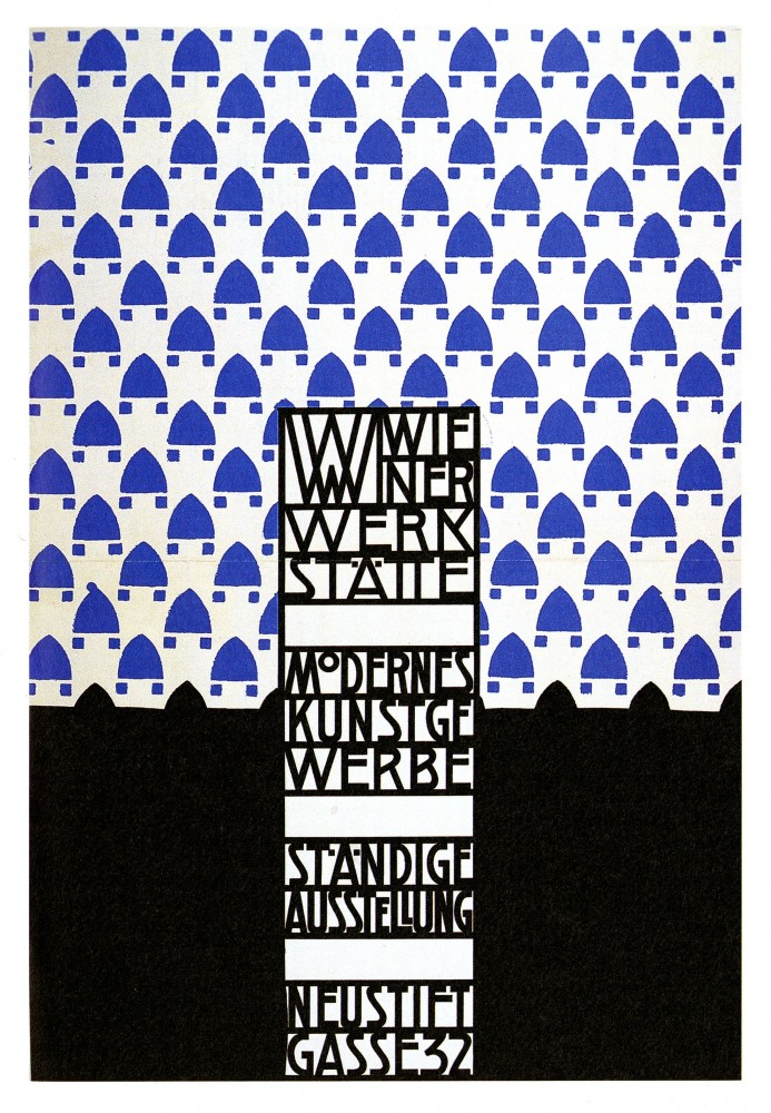 Art - Poster - Advertisement - Wiener Werkstatte Exhibition