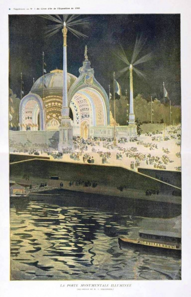 Art - Poster - Travel - Exposition of Paris 1900