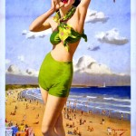 Art - Poster - Travel - Whitley Bay UK - UK Archives Flickr Commons
