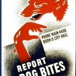 Art - Poster - WPA - Report-Dog-Bites