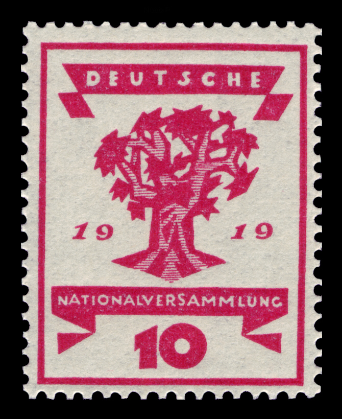 Art - Stamp Art - German - Nationalversammlung