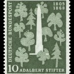 Art - Stamp Art - German - Trees and monument