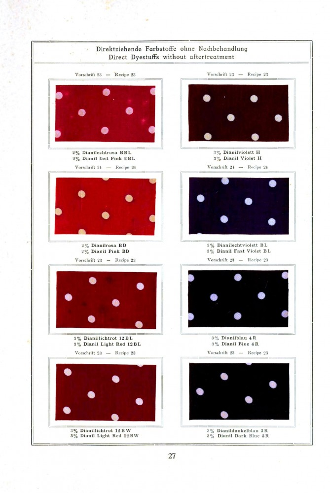 Color - Multi - Standard colors on cotton 1900 -  (13)