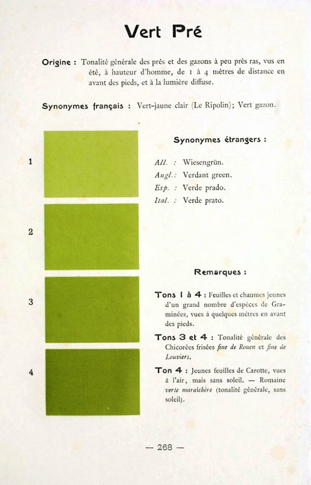 Color - Multi color - French color chart - (10)