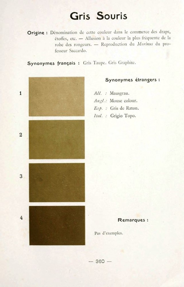 Color - Multi color - French color chart - (102)
