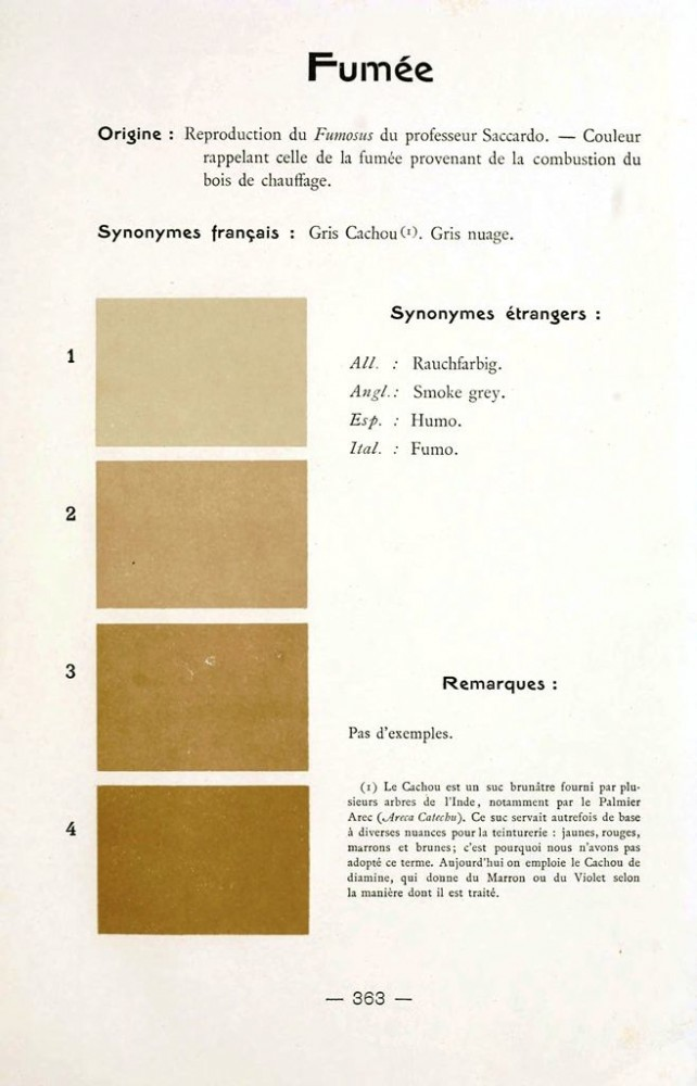 Color - Multi color - French color chart - (105)