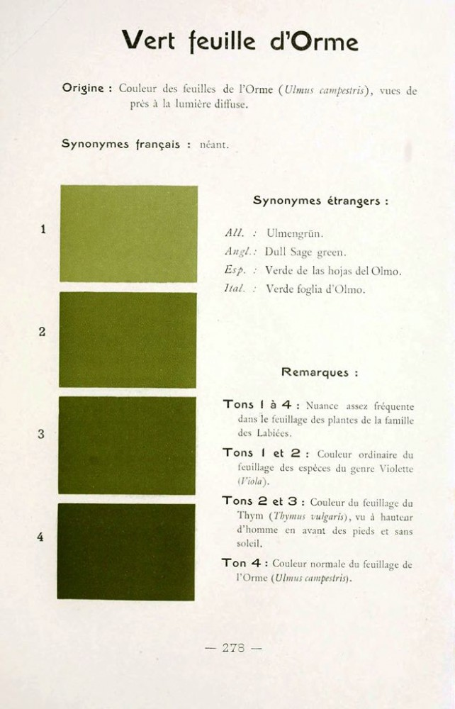 Color - Multi color - French color chart - (20)