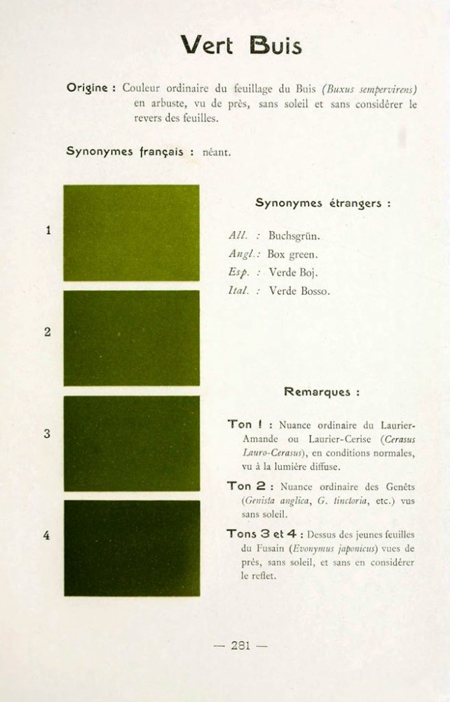Color - Multi color - French color chart - (23)