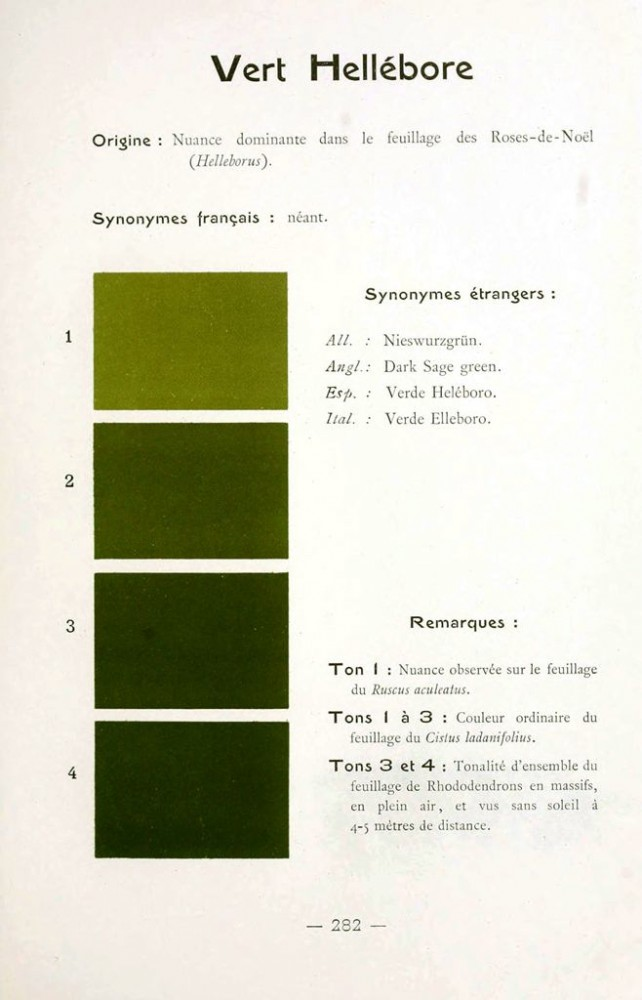 Color - Multi color - French color chart - (24)