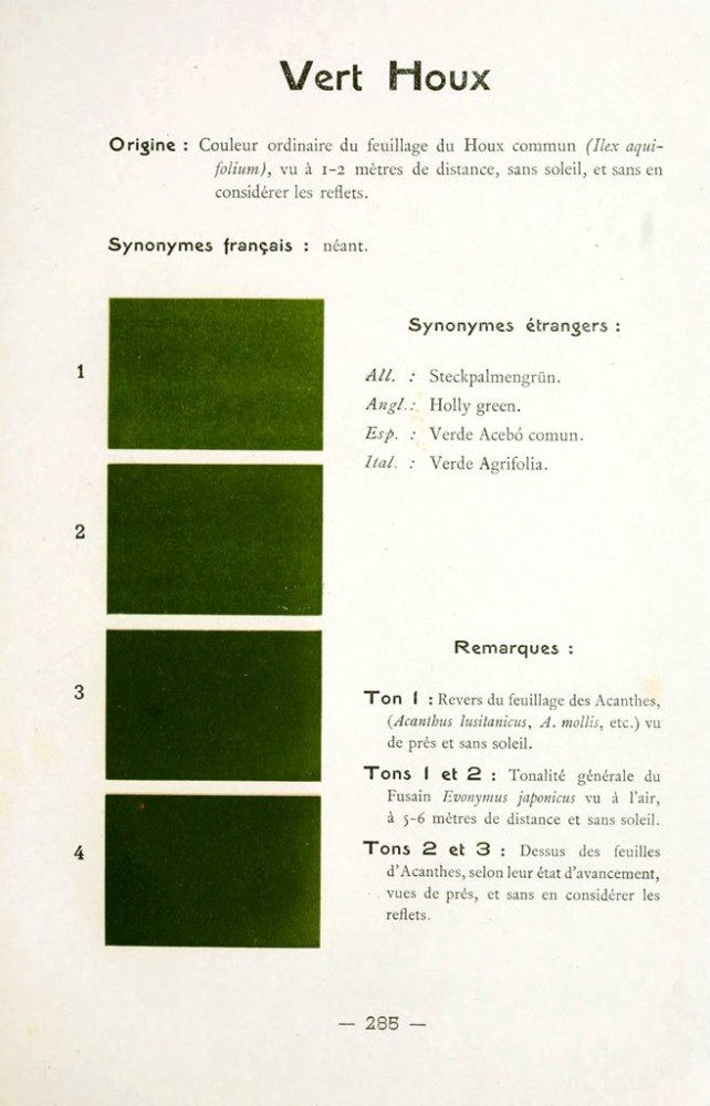 Color - Multi color - French color chart - (27)