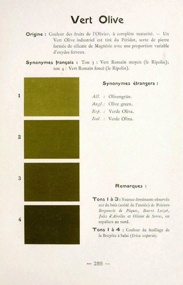 Color - Multi color - French color chart - (30)