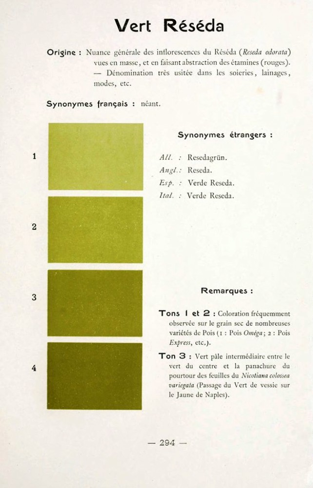 Color - Multi color - French color chart - (36)