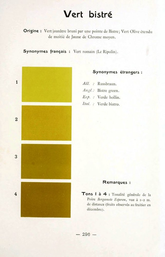 Color - Multi color - French color chart - (38)