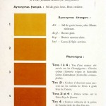 Color - Multi color - French color chart - (39)