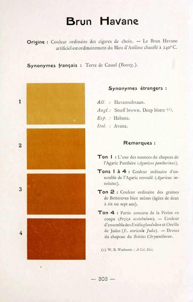 Color - Multi color - French color chart - (45)