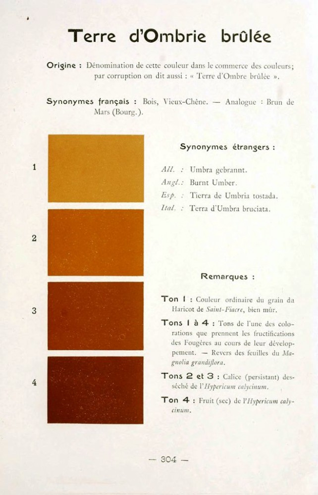 Color - Multi color - French color chart - (46)