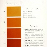 Color - Multi color - French color chart - (50)