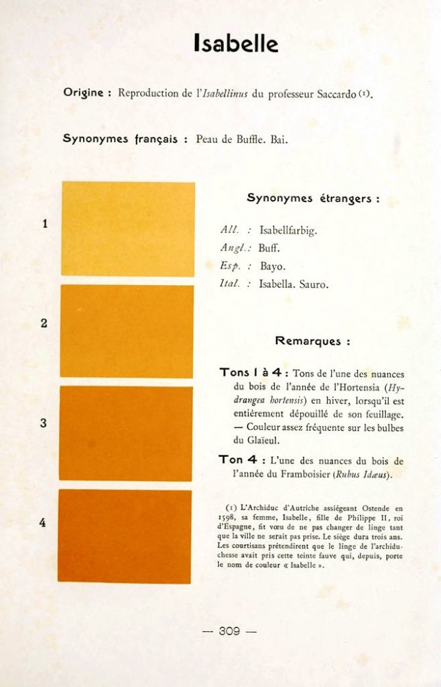 Color - Multi color - French color chart - (51)