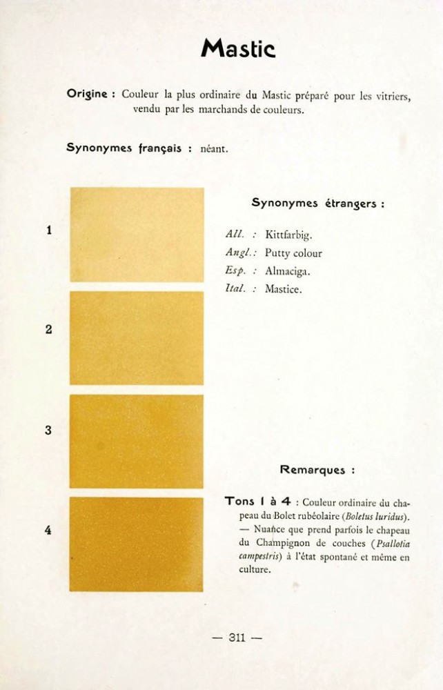 Color - Multi color - French color chart - (53)