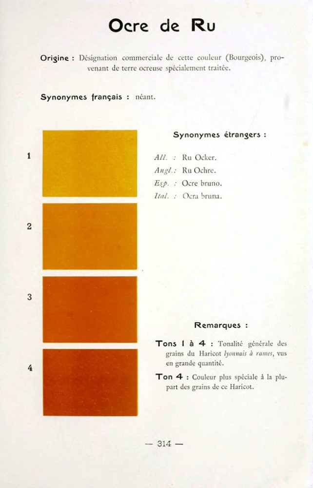 Color - Multi color - French color chart - (56)