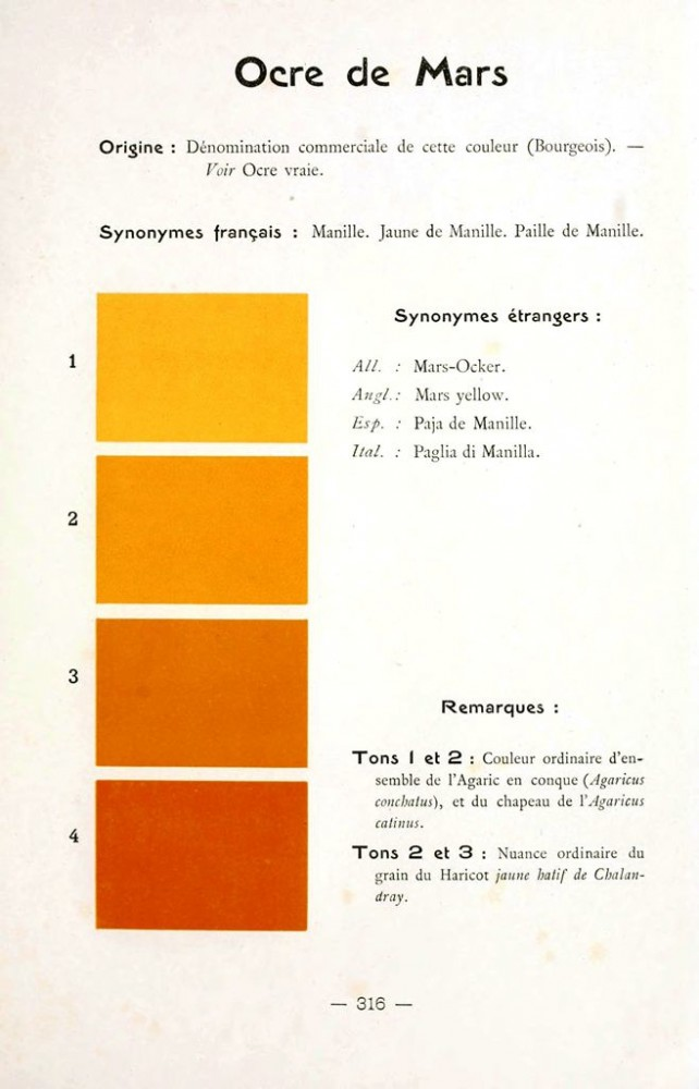 Color - Multi color - French color chart - (58)