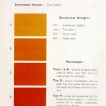 Color - Multi color - French color chart - (59)