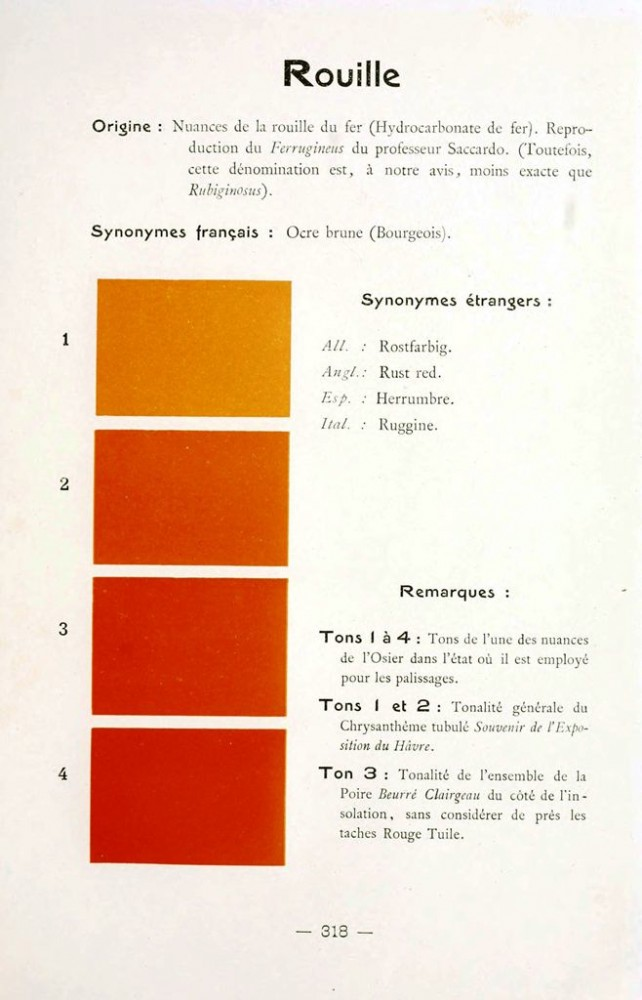 Color - Multi color - French color chart - (60)