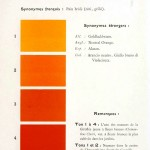 Color - Multi color - French color chart - (61)