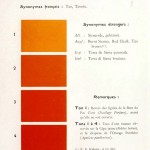 Color - Multi color - French color chart - (62)