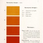 Color - Multi color - French color chart - (63)
