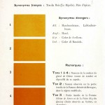 Color - Multi color - French color chart - (66)
