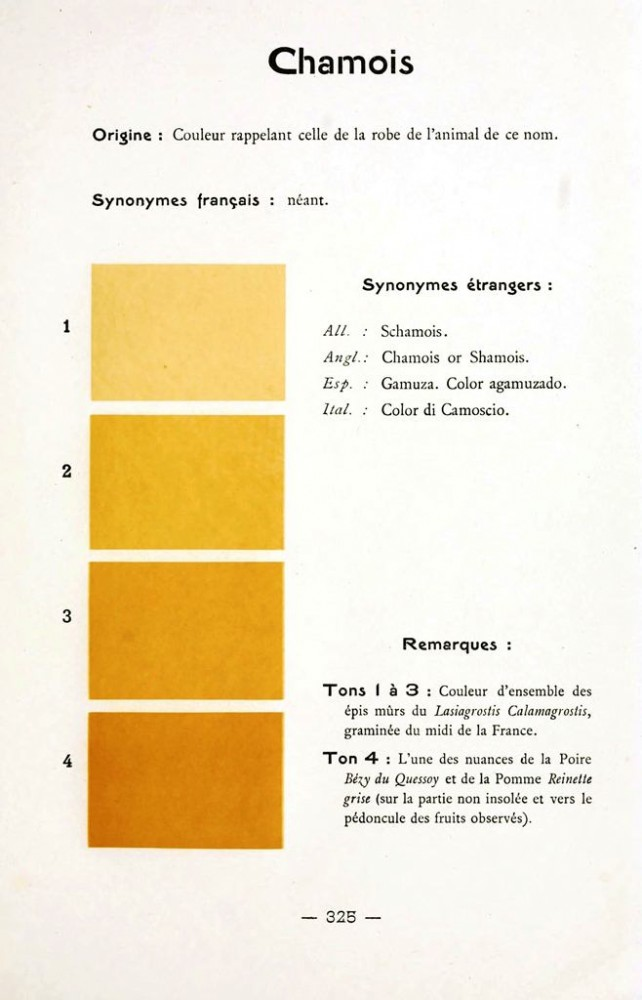 Color - Multi color - French color chart - (67)